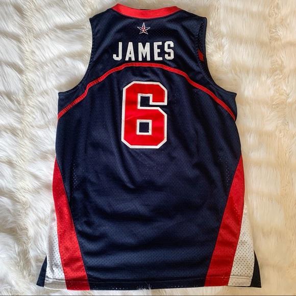 Nike Lebron James Basketball Olympic Jersey